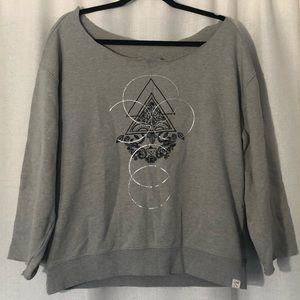 LA Hearts cut off sweatshirt